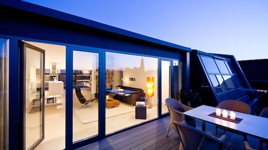 1. Preis: Dachgeschossumbau, LUKAS DROSTE ARCHITEKTEN, HHS Planer + Architekten AG     HEGGER - HEGGER - SCHLEIFF, © Katharina Jaeger