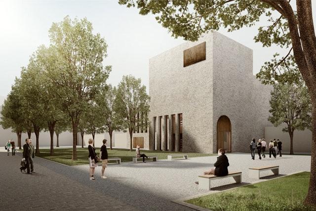 Neubau eines Stadt- und Kreisarchivs mit Quartiersplatz in Bad Hersfeld