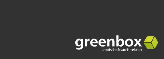 Logo greenbox Landschaftsarchitekten