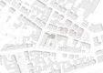 Lageplan: Das neue Gebäudeensemble der Akademie mit Quartiersgemeinschaft