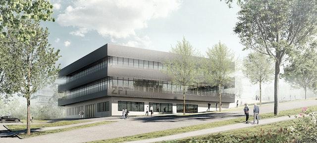 Neubau des Zentrums für Präzisionstechnik in Pforzheim
