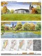 Visualisierung des Entwurfs Almeaue-Bürgerpark Stadt Büren