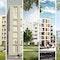 5 Gewinner (v. l. n. r.): André Poitiers Architekt RIBA Stadtplaner; BE Baumschlager Eberle; BLK2 Böge Lindner K2 Architekten; PLANWERKEINS ARCHITEKTEN; czerner göttsch architekten architektur + stadtplanung