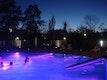 Lichteffekte im Ganzjahresbecken (außen)