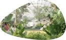Innenperspektive Tropenhaus