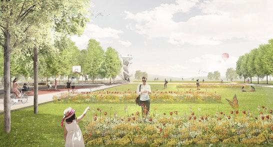 1. Preis Zuschlag: Zschopau-Wiesen mit Sommerflor, © Weidinger Landschaftsarchitekten