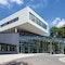 DLR-Forum für Raumfahrtantriebe mit Pforte, Besprechungsräumen und Ausstellungshalle