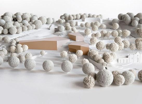 1. Preis: Wettbewerbsmodell, © LWL/Hesterbrink/Pölert