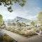 Perspektive vom Steingarten