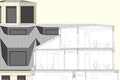 Detailschnitt Dach