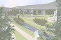 Oval am Viadukt