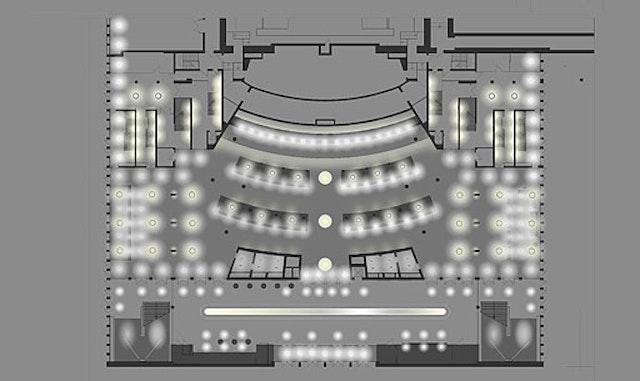 Lichtkonzept Deutsche Oper Berlin
