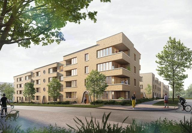 Stadterweiterung Kronsberg Süd - Areal Mitte in Hannover