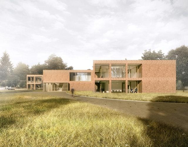 Neubau eines Unterkunftsgebäudes für den Internatsbetrieb in Celle Scheuen