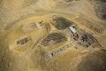 Luftbild der Grabungsstätte