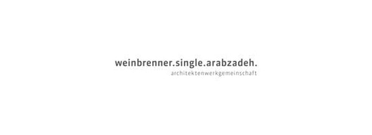 Logotipo weinbrenner.single.arabzadeh. Freie Architekten BDA