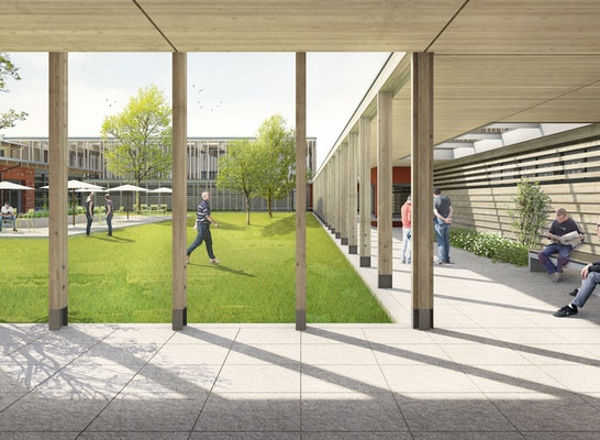1. Preis Zuschlag: © Auf den Punkt Architekten, LOR Landschaftsarchitekten, Bildwerk Visualisierung