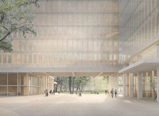 1. Preis: © David Chipperfield Architects Gesellschaft von Architekten mbH / Atelier LOIDL Landschaftsarchitekten Berlin GmbH
