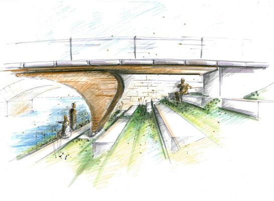 Brücke Baunach Perspektive