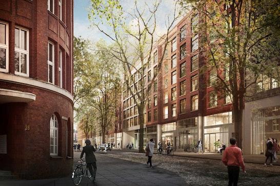 1. Preis Städtebau: Straßenansicht, © 03 Arch.