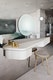 Ritz Apartment Almaty by COORDINATION master bedroom - vanity table
