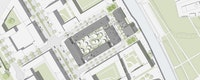 ARGE ECB- zanderroth architekten / ZOOMARCHITEKTEN: Lageplan