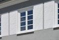 Fassaendetail Nachbildung Fensterläden