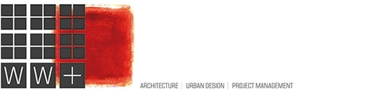 Logo WW+  architektur + management