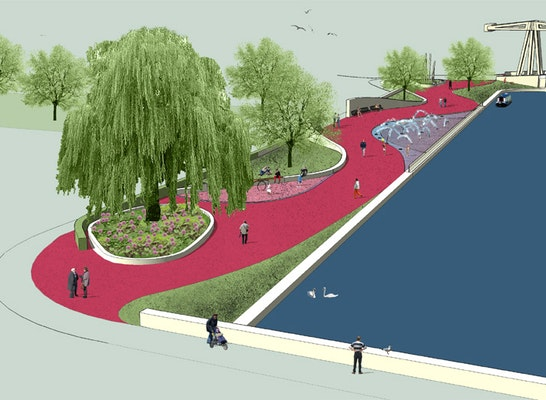 Result Royal Canal Linear Park Competition