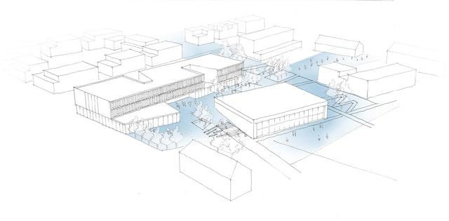 Neubau einer Realschule mit Mensa und einer Dreifeld-Sporthalle in Donaueschingen