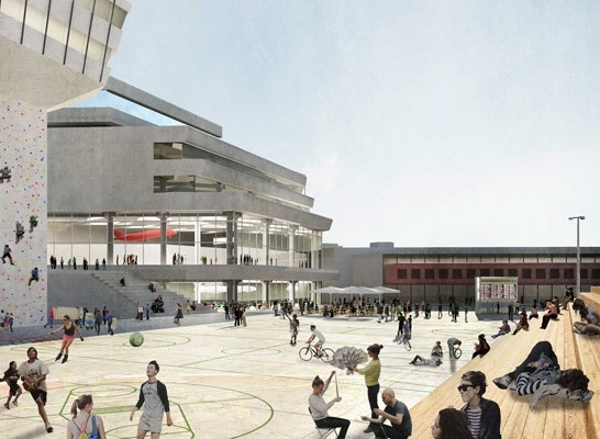 1st Prize: Campus-Arena
