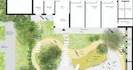 Freiraumdetail Innenhof Spielfläche Kinderkrippe  © STEFAN FORSTER ARCHITEKTEN GmbH