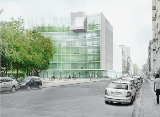 2 rundgang ein neues haus f r die taz competitionline. Black Bedroom Furniture Sets. Home Design Ideas