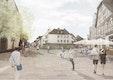 Perspektivische Darstellung Lange Straße