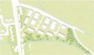Dreieck Fiskalische Straße (Teilgebiet 1) - Lageplan