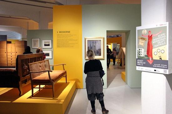 """""""Kleinwohnung, Modehaus und Kraftzentrale –  Neues Bauen und neues Leben im Halle der 20er Jahre""""  - Stadtmuseum Halle"""