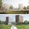 oben HPP Hentrich-Petschnigg & Partner mit arbos Freiraumplanung; unten Nieto Sobejano Arquitectos mit Atelier Loidl
