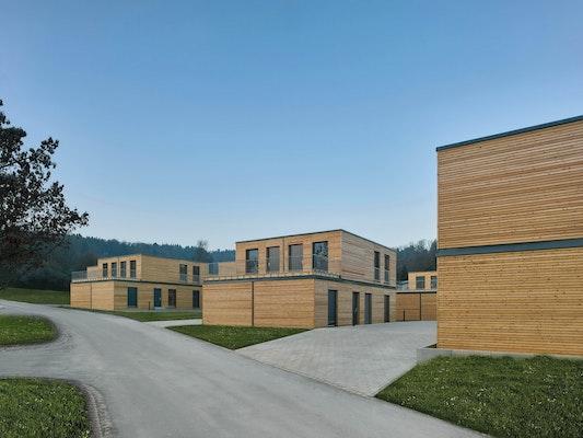 Aktivhaus-Siedlung in Winnenden (Serie 700 by Werner Sobek)