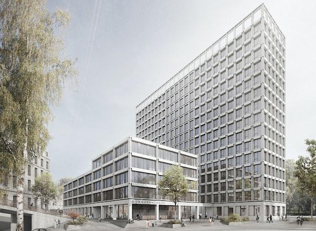 Neubau BürgerRatHaus in Essen