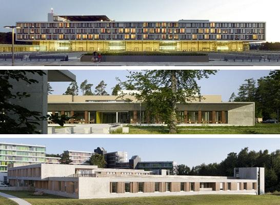 Auszeichnung: Drei Auszeichnungen: Chirurgie / Dermatologie – Universitätsklinikum Ulm ; Partikel-Therapie-Zentrum Marburg; Zentrum für Psychiatrie, Friedrichshafen