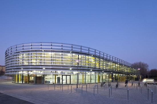 """Schwimm- und Eissporthalle Köln, """"Lentpark"""""""
