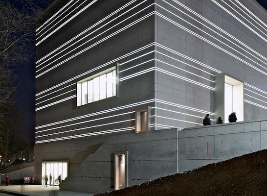 Preisträger: Nachtillumination zur Eröffnung