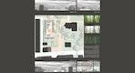 Wettbewerbsplan 2: Grundriss Erdgeschoss mit Außenanlagen, Schnittansichten