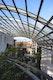 Glasüberdecktes Atrium