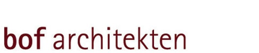 Logo bof architekten bücking, ostrop & flemming partnerschaft mbb