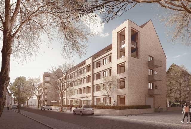 Wohnbebauung Dieterichsstraße 33-35 in Hannover