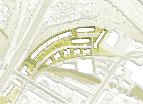 1. Preis: © wiechers beck Gesellschaft von Architekten mbH, KuBuS Freiraumplanung GbR