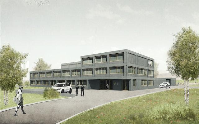 Neubau Polizeiinspektion Saale-Orla in Schleiz