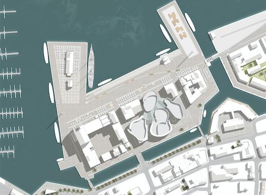 Zuschlag: Lageplan, © WES LandschaftsArchitektur