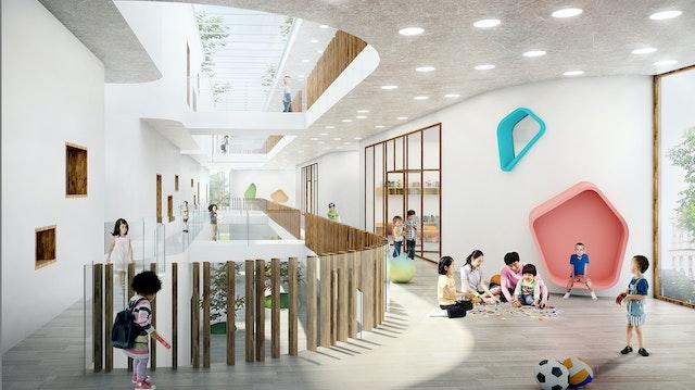 Kindergarten Hangzhou im IOT Indistry Park